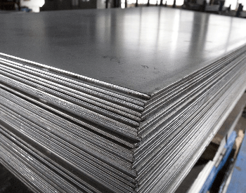A picture of stainless steel sheets