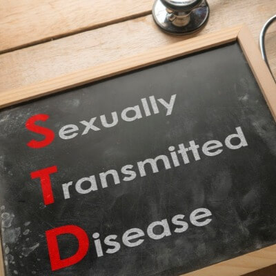 A Picture of an STD Sign