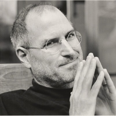 A Picture of Steve Jobs