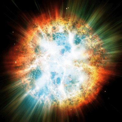 A Picture of a Supernova Explosion