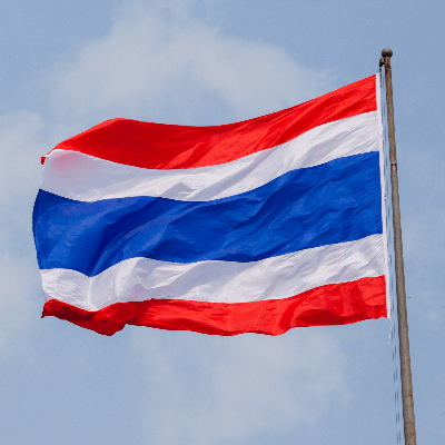 A Picture of the Thailand Flag