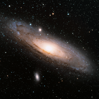 A Picture of the Andromeda Galaxy