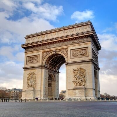 A Picture of the Arc de Triomphe