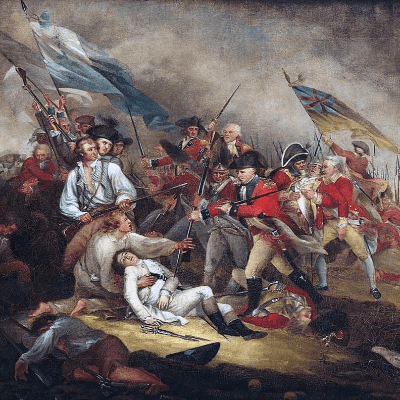 The Battle of Bunker Hill (John Trumbull)