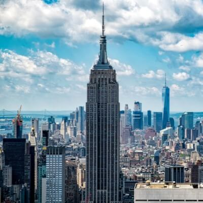 A Picture of the Empire State Building