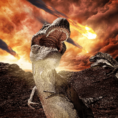The Extinction of the Dinosaurs
