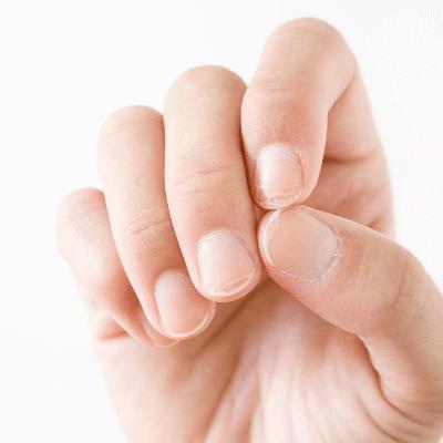 A Picture of Human Fingernails
