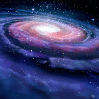 A Picture of the Milky Way Galaxy