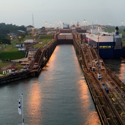 A Picture of the Panama Canal