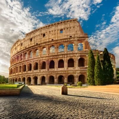 A Picture of the Roman Colosseum