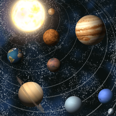 A Picture of our Solar System