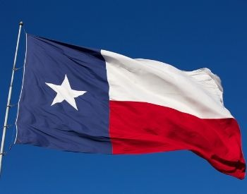 A picture of the flag of the U.S. state of Texas
