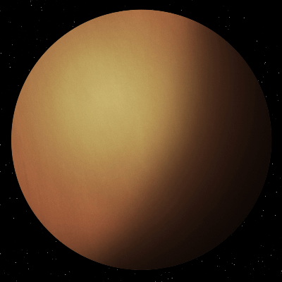 A Picture of Saturn's Moon Titan