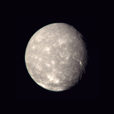 A Picture of the moon Titania