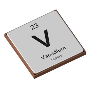 The Periodic Table - Vanadium