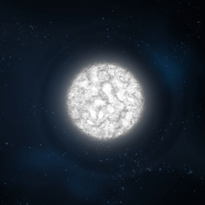 A Picture of a White Dwarf Star