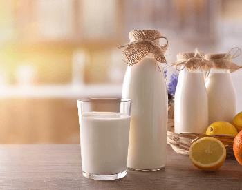 A picture of white milk