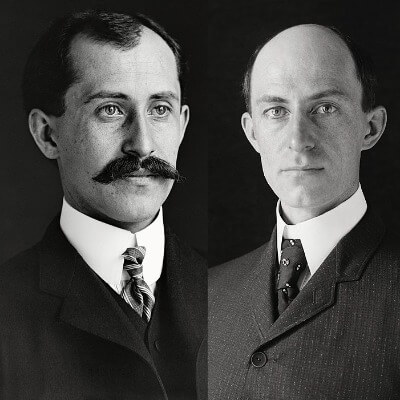 A Picture of Wright Brothers