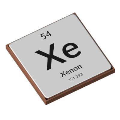 The Periodic Table - Xenon