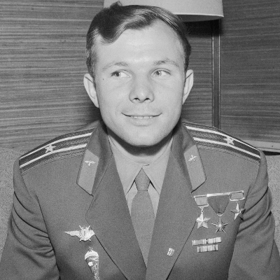 A picture of Yuri Gagarin